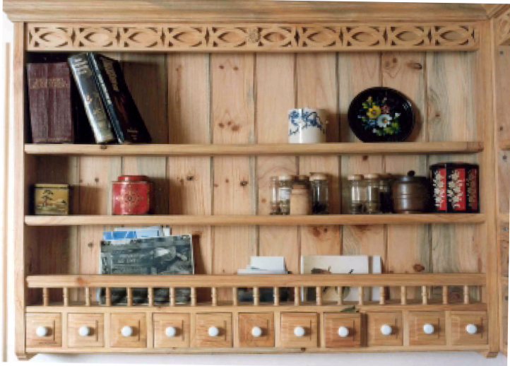 Kitchen in Scots Pine - Woodfellows